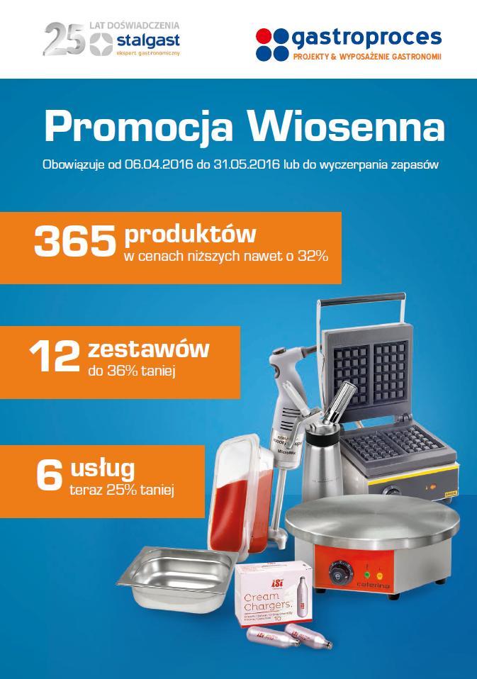 Promocja wiosenna produktów Stalgast
