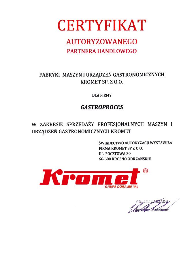 Autoryzacja Kromet
