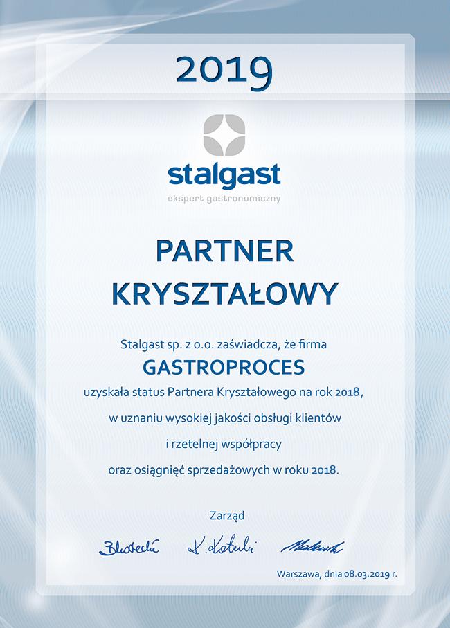 Partner Kryształowy Stalgast