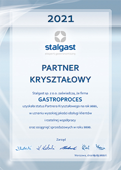 Partner Kryształowy Stalgast 2021